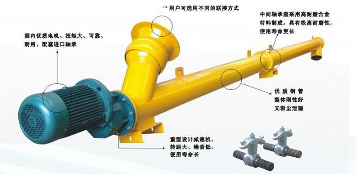 螺旋输送泵在搅拌站设备上的应用