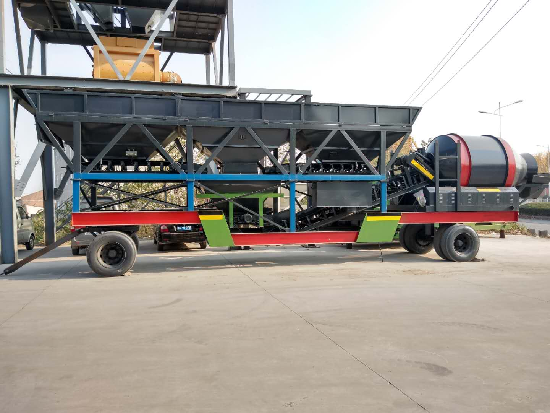 移动式混凝土搅拌站价格及组成设备介绍